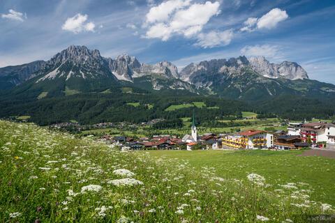 Kaisergebirge Over Ellmau