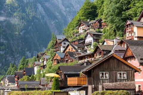Hallstatt Houses
