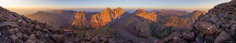 Humboldt Peak Sunrise Panorama