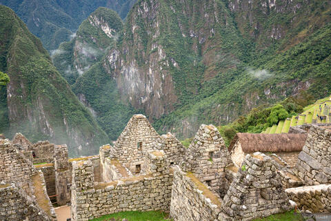 Macchu Picchu Precipice