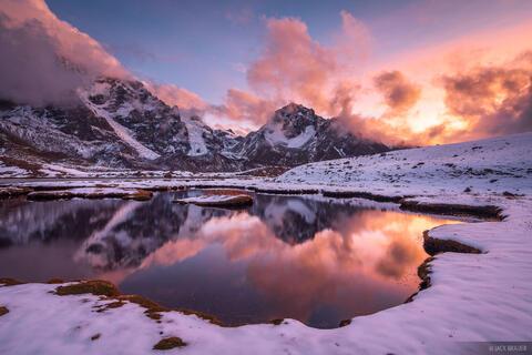 Ausangate Sunset Reflection