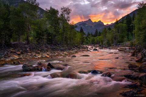 Animas River Sunrise