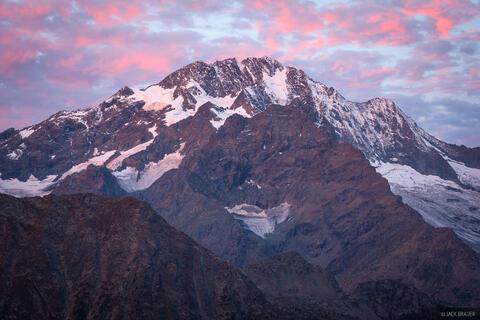 Monte Disgrazia Sunrise
