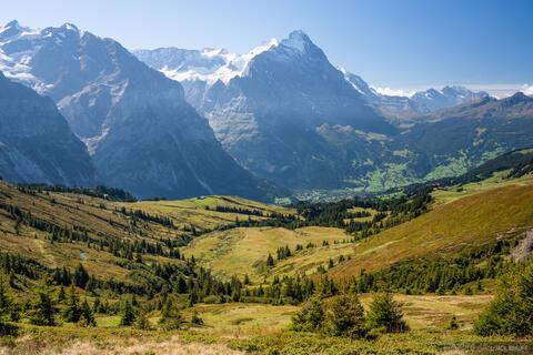 Eiger Over Grindelwald