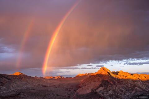 Rainbow Over Pinto Valley #2