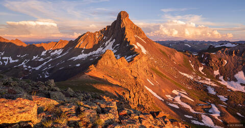 Wetterhorn Peak Sunset #3