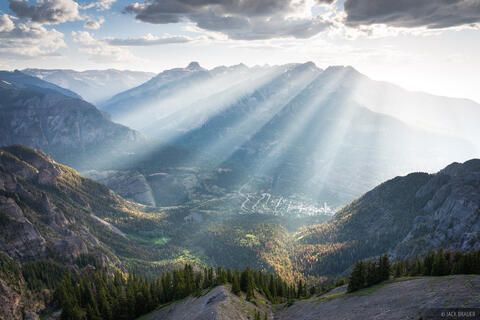 Sunbeams Over Ouray #2