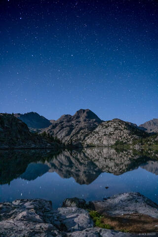 Cook Lake Starry Reflection