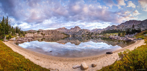 Alpine Beach Panorama