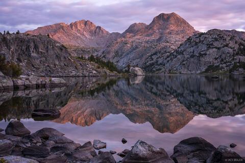 Cook Lake Dawn Reflection