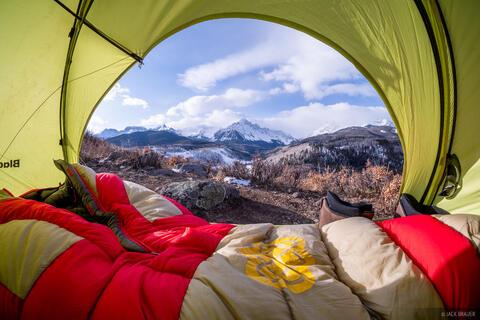 Sneffels Tent View