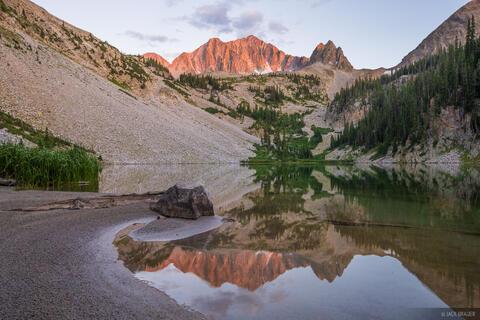 Avalanche Lake Reflection