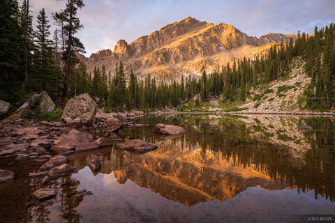 Hidden Lake Sunrise