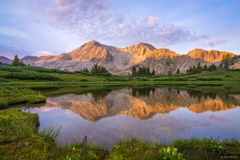 Snowmass Sunset Reflection