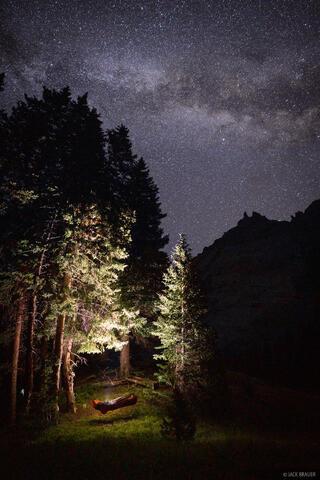 Hammock Under the Stars