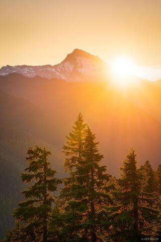 Sloan Peak Sunset