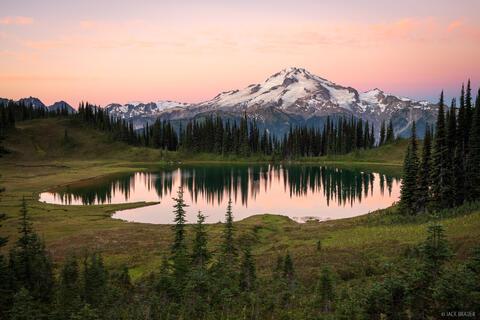 Sunrise at Image Lake
