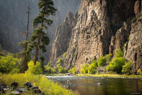 Black Canyon Fisherwoman