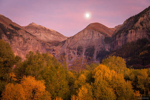 Moonglow Over Telluride