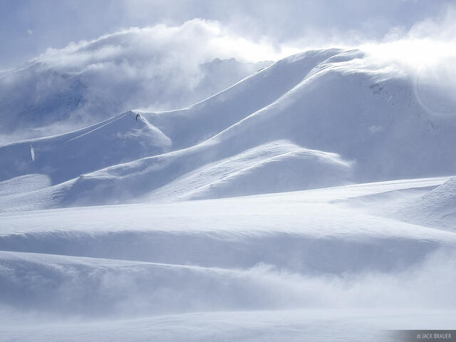 windblown, powder, snow, Argentina, Las Leñas