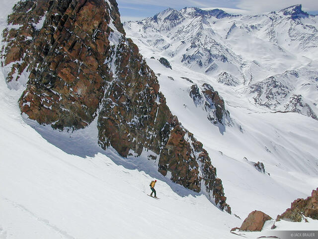 Argentina, snowboarding, Las Leñas