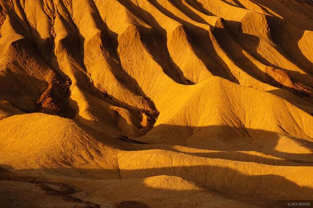 Mudhills, Anza Borrego Desert, California
