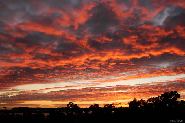 sunset, Bankers Hill, San Diego, California