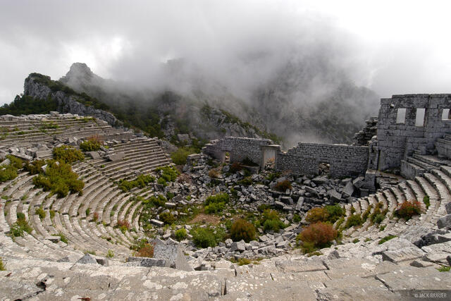 Termessos, amphitheater, Turkey