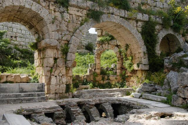 Perge, Greek, Roman, ruins, Turkey
