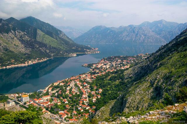 Boka Kotorska, Kotor, Adriatic Sea, Montenegro