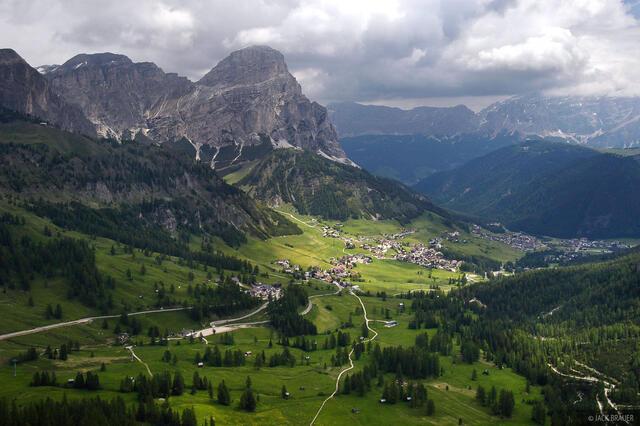Sassongher, Corvara, Dolomites, Italy, Alps