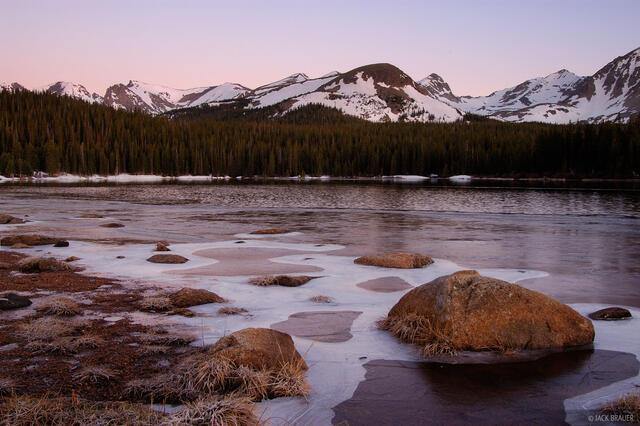 Brainard Lake, Indian Peaks, Colorado
