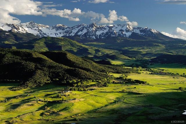 Pleasant Valley, Sneffels Range, San Juans, Colorado