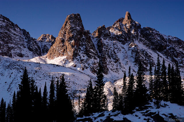 peaks, Eagles Nest Wilderness, Gore Range, Colorado