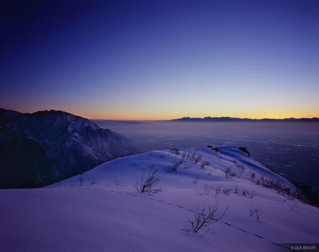 Mount Olympus, Grandeur Peak, Salt Lake City, Wasatch Range, Utah