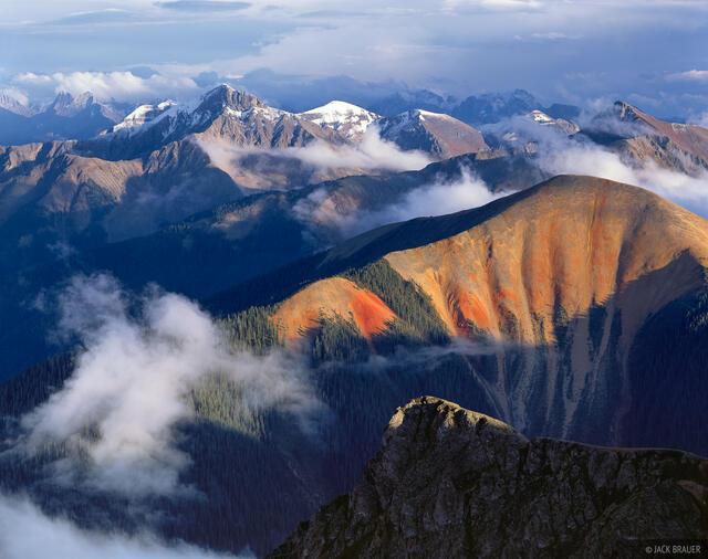 Sultan Mountain, Grenadier Range, Silverton, San Juan Mountains, Colorado