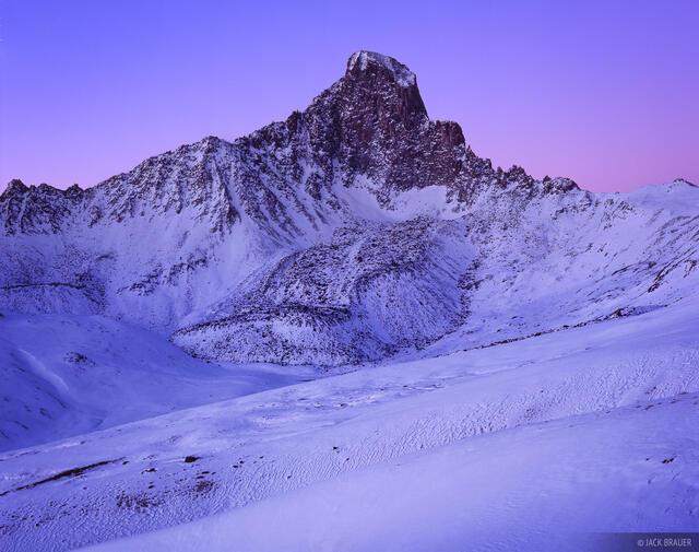 Wetterhorn Dawn