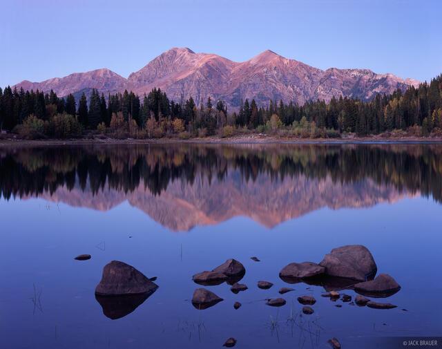 Mt. Owen, Ruby Peak, Kebler Pass, Colorado