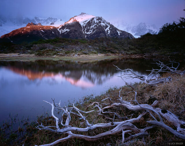 Cerro Madsen, Parque Nacional los Glaciares, Argentina, Patagonia