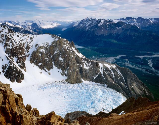 Glaciar Piedras Blancas, Parque Nacional los Glaciares, Patagonia, Argentina
