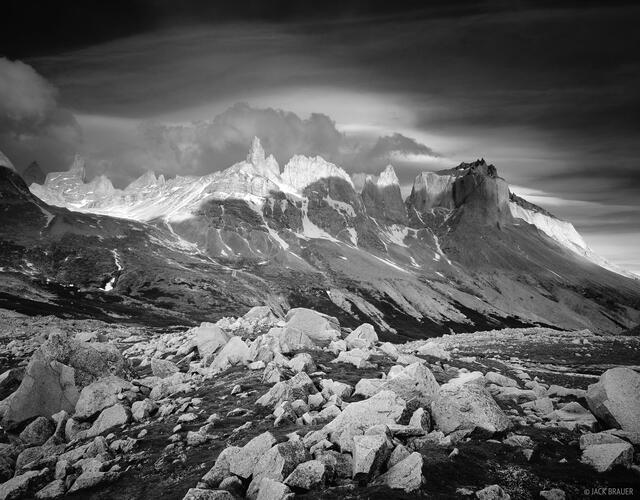 Valle Frances, Torres del Paine, Chile