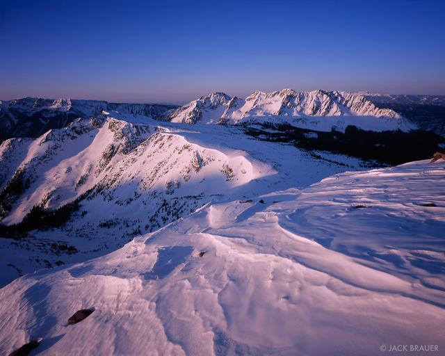 North Twilight Peak, Sunrise, San Juan Mountains, Colorado