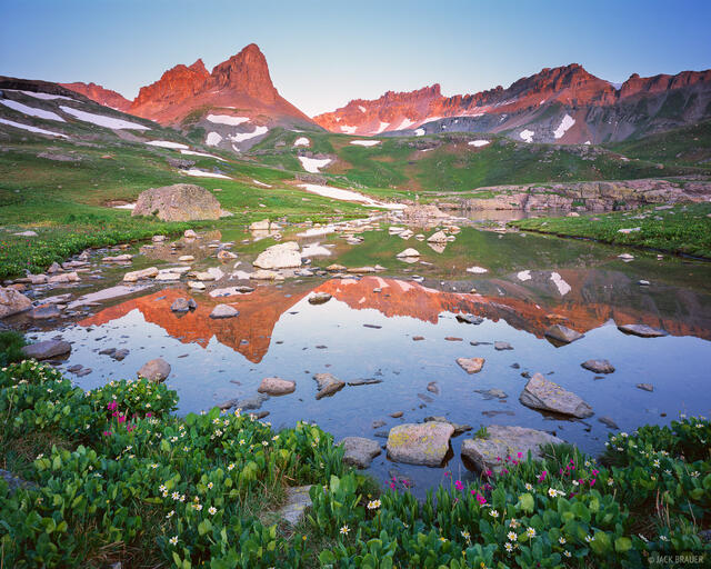 Ice Lakes Basin, San Juan Mountains, Colorado