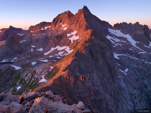 Sunlight Peak, Knife Point, Needle Mountains, fourteener, Colorado