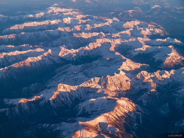 Colorado, aerial, Elk Mountains, 14ers, Capitol Peak, Maroon Bells, Snowmass Mountain, Maroon Bells-Snowmass Wilderness