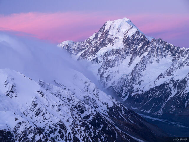 Mount Cook, New Zealand, Aoraki, Southern Alps