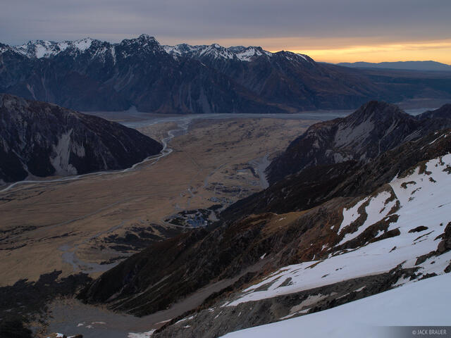 Mount Cook Village, New Zealand, Southern Alps