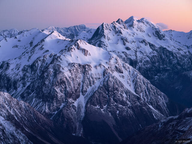 Mt. Campbell, Carrington Peak, Arthur's Pass, New Zealand