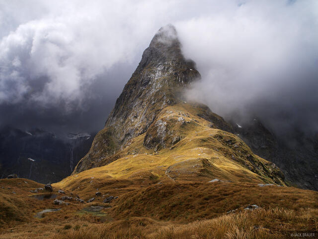 Mackinnon Pass, Milford Track, New Zealand