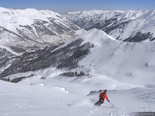 backcountry, skiing, San Juans, Colorado